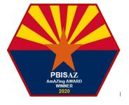 AZ PBIS Award logo