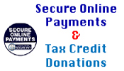 Secure Online Payments and Tax Credit Donations