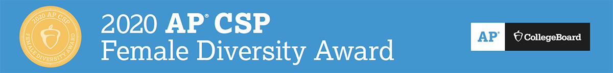 AP CSP Female Diversity Award